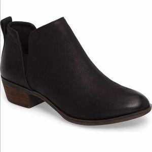 bp Nordstrom Francine Black Ankle Bootie